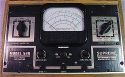 549 Electronic Voltmeter